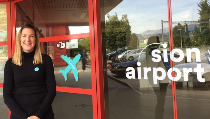 Sion Airport gets ready to welcome new airline powdair