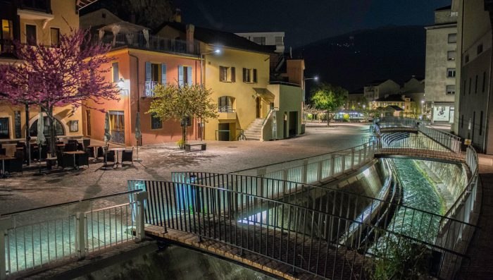 Sion by Night – By Local Photographer Samuel Fiore