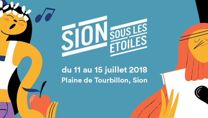 """Sion under the Stars"" – Sion sous les Etoiles rock Festival 11-15 July"