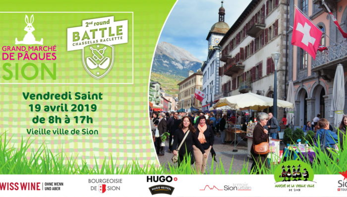 Easter Market in Sion – Friday 19th April – Stalls, food and fun!